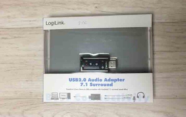 Adaptateur Audio  USB / Jack